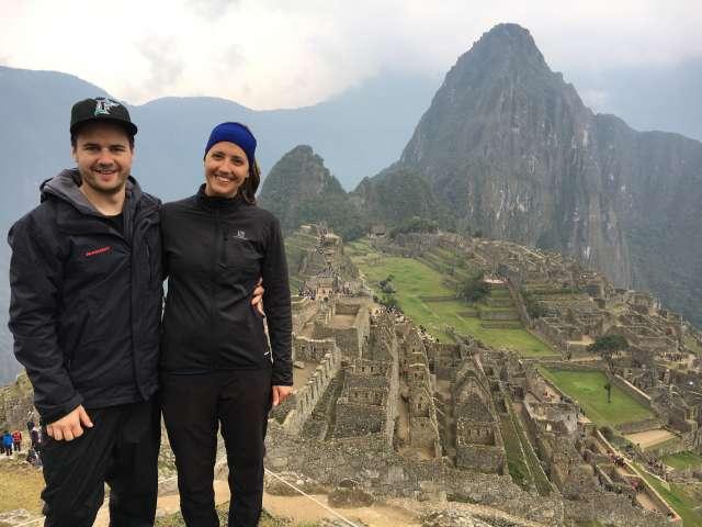 Reisefoto von Simone und Christian