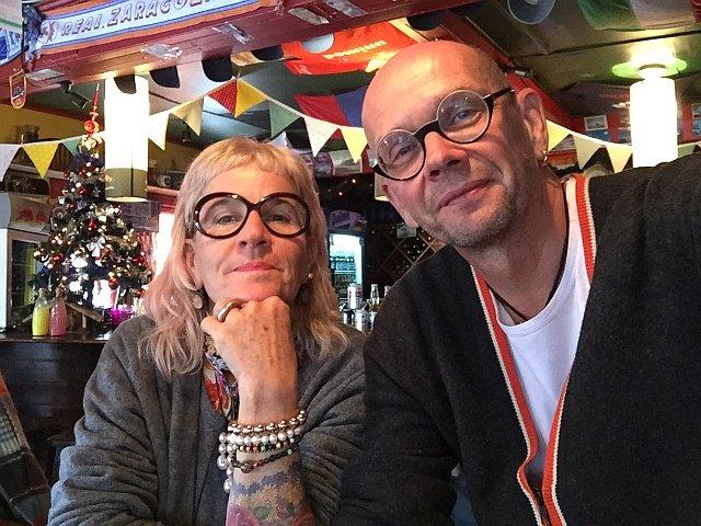 Reisefoto von Renata Scheidegger und Bernhard Thomann