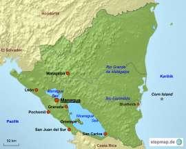 Nicaragua Reiseziele