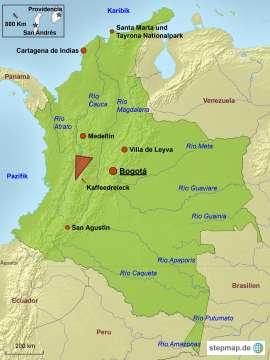 Kolumbien Reiseziele