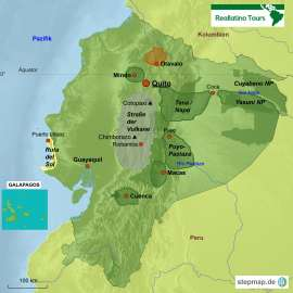 Ecuador Reiseziele