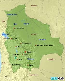 Bolivien Reiseziele