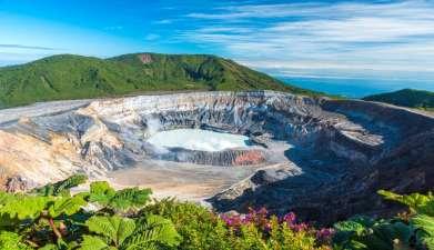 Ausflug zum Vulkan Poás