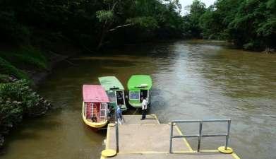 Bootsfahrt auf dem Río Sarapiquí