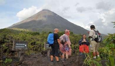 Ausflug zum Vulkan Arenal