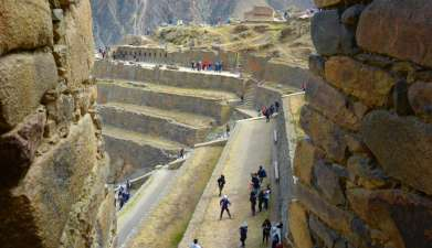 Halbtagesexkursion Chincero, Salzminen von Maras und Ollantaytambo