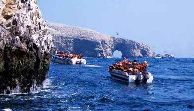 Bootsfahrt zu den Islas Ballestas