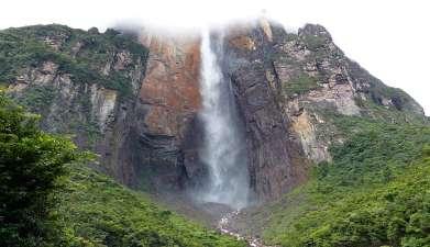 Exkursion zum Wasserfall Salto Ángel