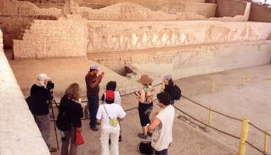 Besichtigung der Ausgrabungsstätte El Brujo