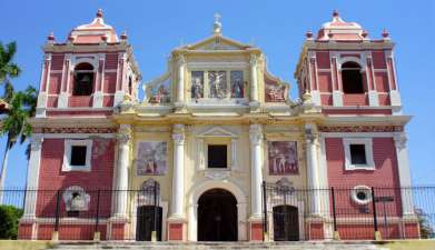 Stadtbesichtigung León