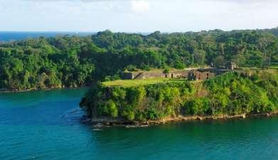 Besuch der Festung San Lorenzo und der neuen Schleusenanlage in Agua Clara