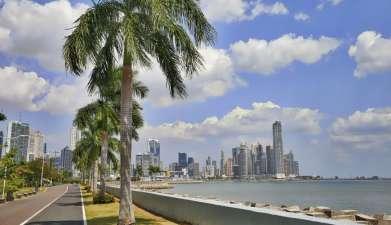 Laufen in Panama Stadt
