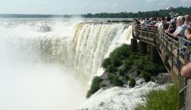 Ganztagesausflug zu den Iguaçu Wasserfällen Argentinien
