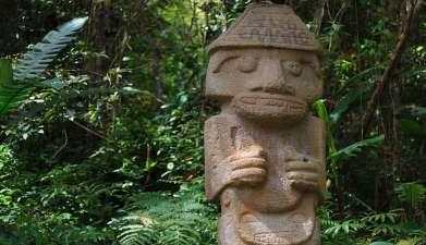 Halbtagesausflug Archäologischer Park San Agustín