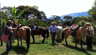 Reitausflug El Tablón und La Chaquira