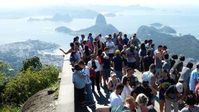 Halbtagesausflug zum Corcovado im Zug und an die Strände Rios