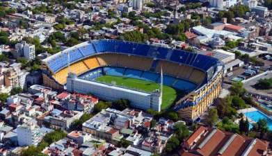 Stadiontour Boca Juniors und River Plate