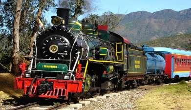 Zugfahrt mit dem Tren de la Sabana