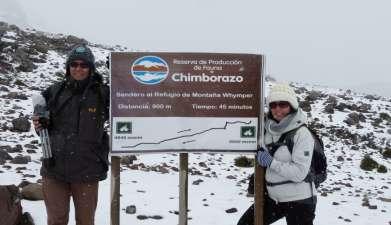 Exkursion zum Chimborazo Reservat