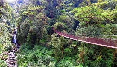 Hängebrücken Boquete
