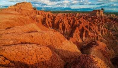 Halbtagesexkursion in die Tatacoa-Wüste