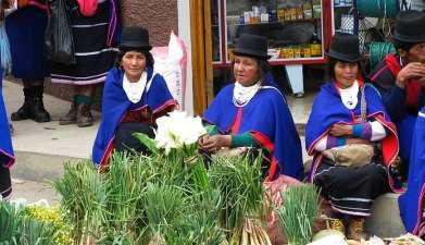 Tagesausflug Silvia mit Besuch des Marktes der Guambiano