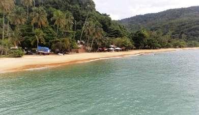 Ausflug zum Strand Lopes Mendes