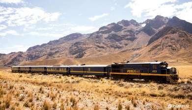 Zugfahrt von Cuzco nach Puno im Tren Titicaca