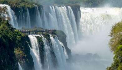 Exkursion zu den Iguazú-Wasserfällen Brasilien