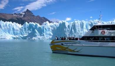 Bootsfahrt Lago Argentino und Gletscher
