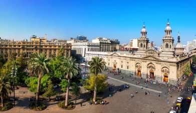 Privat geführte Stadtrundfahrt Santiago de Chile