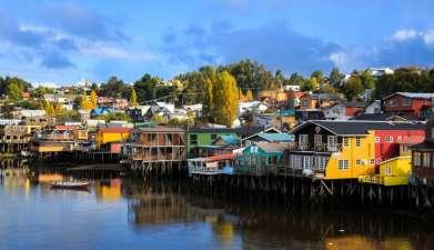 Ganztagesausflug zur Insel Chiloé: Ancud, Castro & Dalcahue