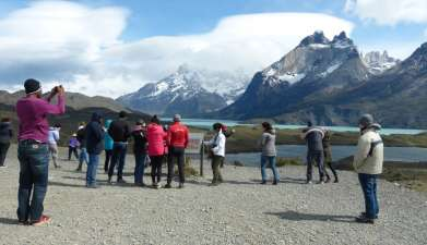 Exkursion in den Nationalpark Torres del Paine