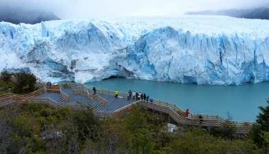 Exkursion zum Gletscher Perito Moreno (Argentinien)