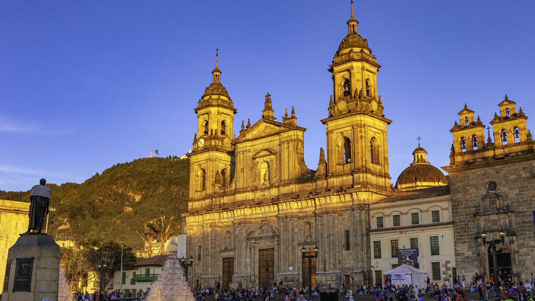 Tag 1 Bogotá: Anreise