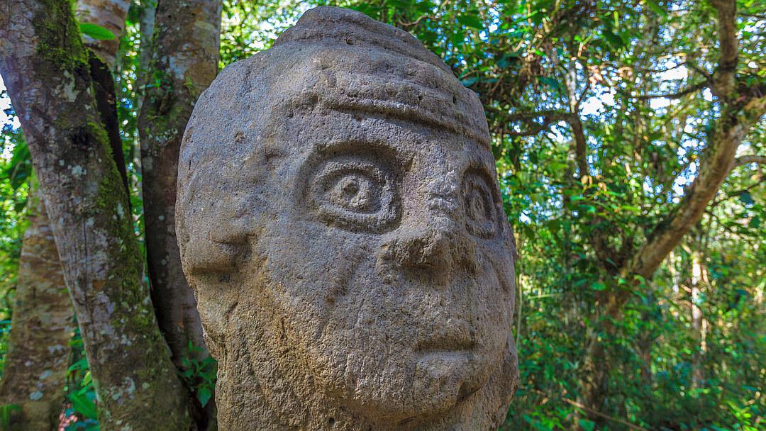 Tag 1 Neiva-San Agustín: Archäologischer Park San Agustín