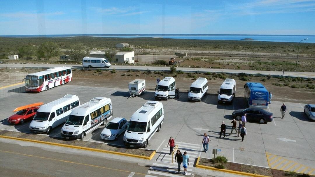 Tag 1 Trelew-Puerto Pirámides: Empfang Mietwagen