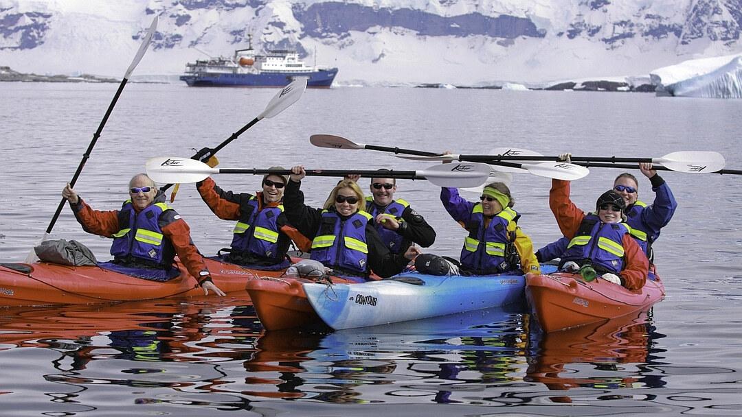 Tag 4 bis 11: Südshetland Inseln, Antarktische Halbinsel und Fahrt über den Polarkreis