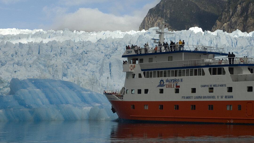 Tag 3, Montag: Gletscher San Rafael
