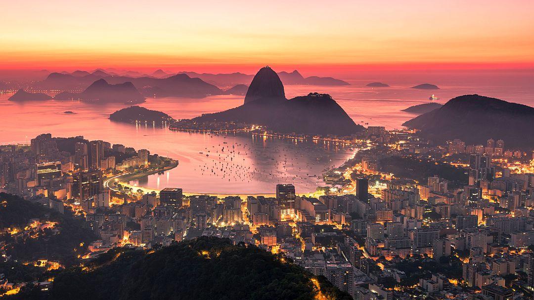 Tag 1: Flug nach Rio de Janeiro