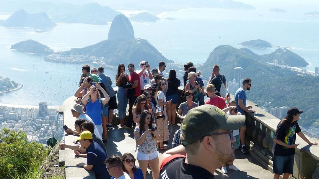 Tag 4: Rio de Janeiro: Halbtagestour zum Corcovado