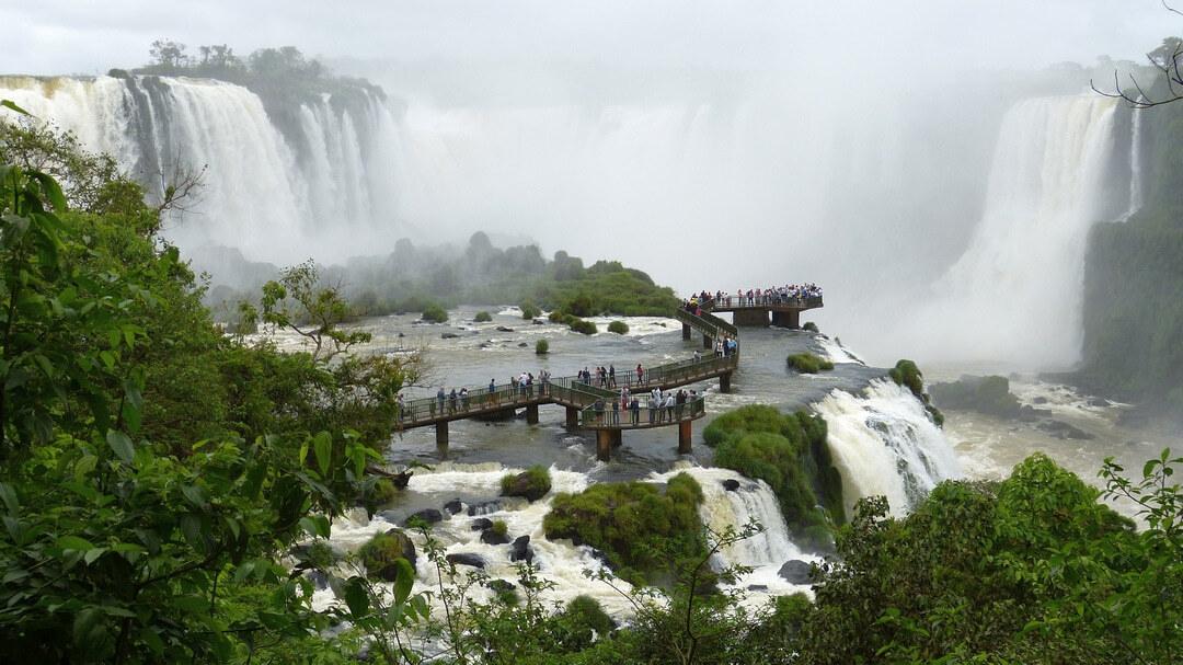 Tag 5: Rio de Janeiro-Foz do Iguaçu: Besichtigung der Wasserfälle in Brasilien