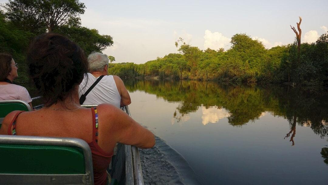 Tag 9 Amazonas Turtle Lodge: Survival-Dschungeltour und Bootsfahrt