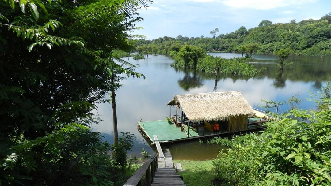 Tag 10 Amazon Turtle Lodge-Manaus: Besuch einer einheimischen Familie