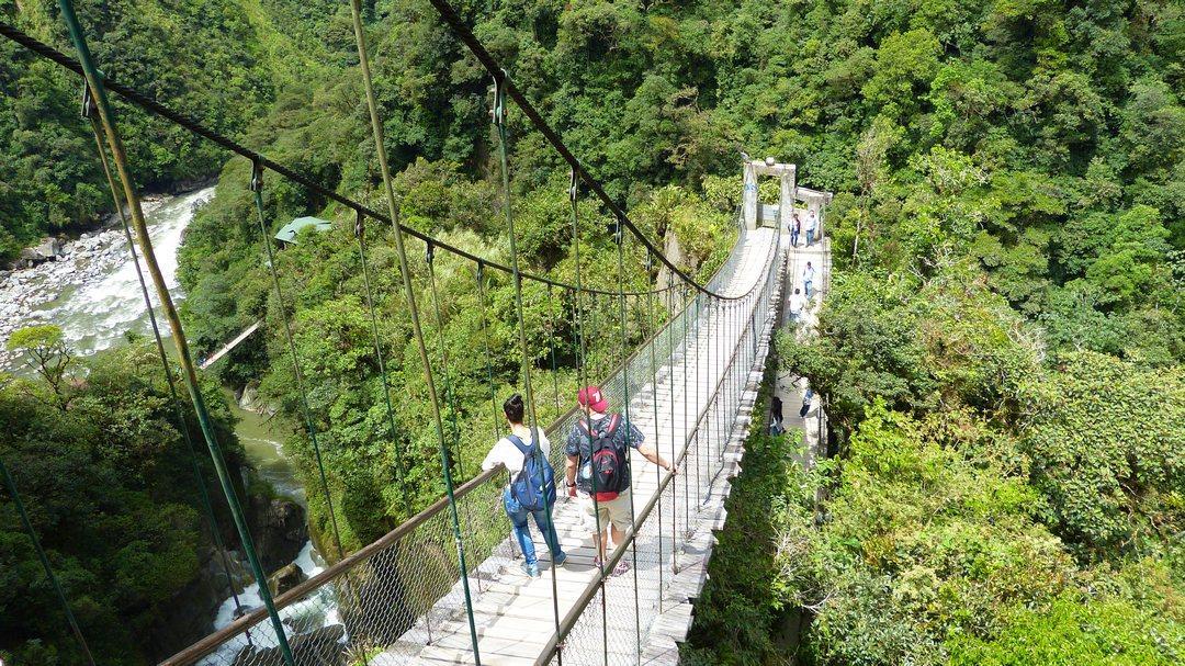 Tag 8 Baños-Pastaza Canyon-Amazonas