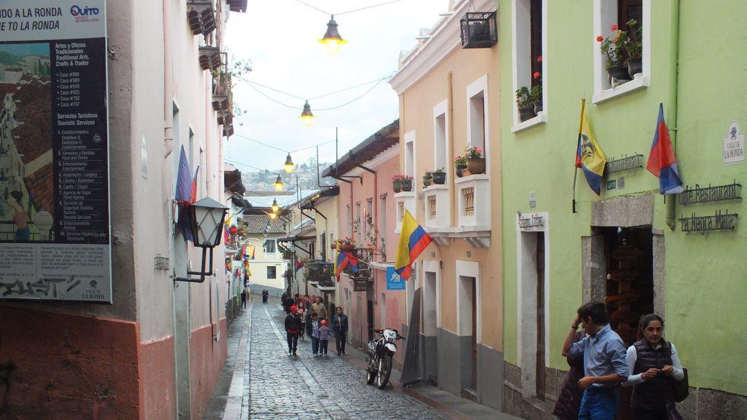 Tag 13 Quito: Stadtbesichtigung Quito