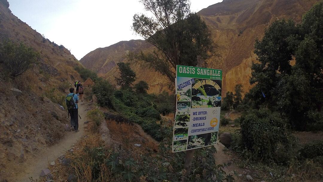 Tag 2: Von San Juan de Chuccho nach Sangalle de Oasis