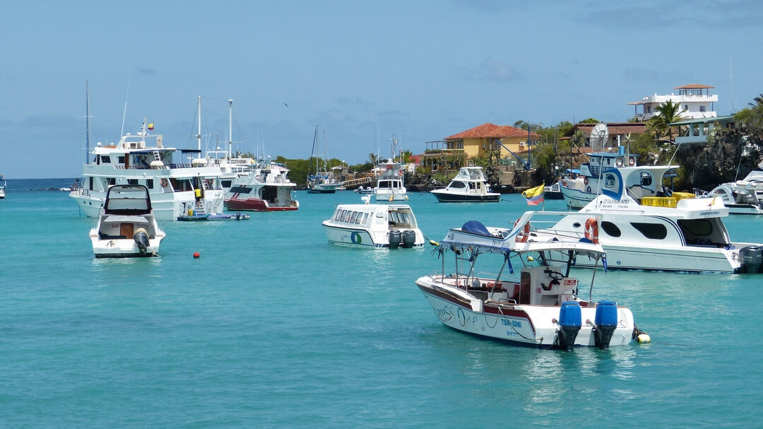 Tag 1: Insel Baltra (Flughafen)- Puerto Ayora (Insel Santa Cruz)