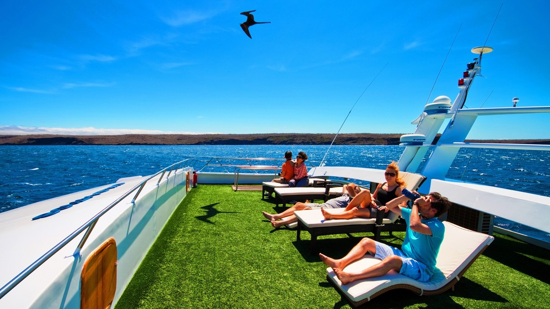 Tag 4 Insel Isabela (Tagus-Bucht, Urbina-Bucht)