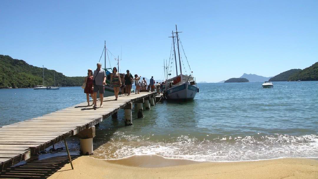 Tag 1 Ilha Grande: Anreise